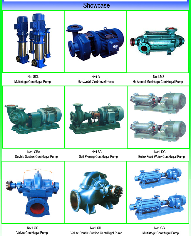 Horizontal Multistage Centrifugal Water Pump with Mechanical Seal
