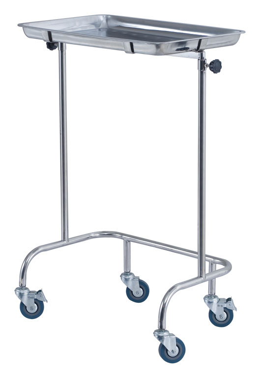 Stainless Steel Mayo Stand Trolley