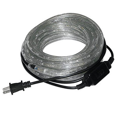 LED 13mm PVC Rope Light Warm White Indoor and Outdoor Use