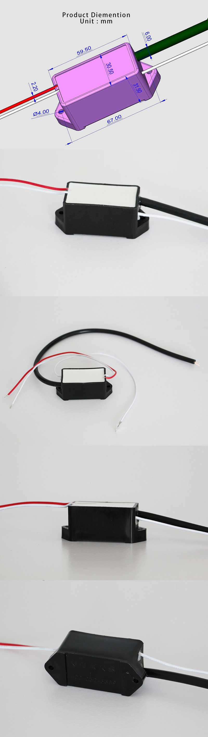 12V Ignitor Igniter for Mist and Fog Machine