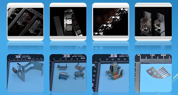 Customized Steel Brass Electrical/Auto Sheet Metal Stamping Parts Dongguan