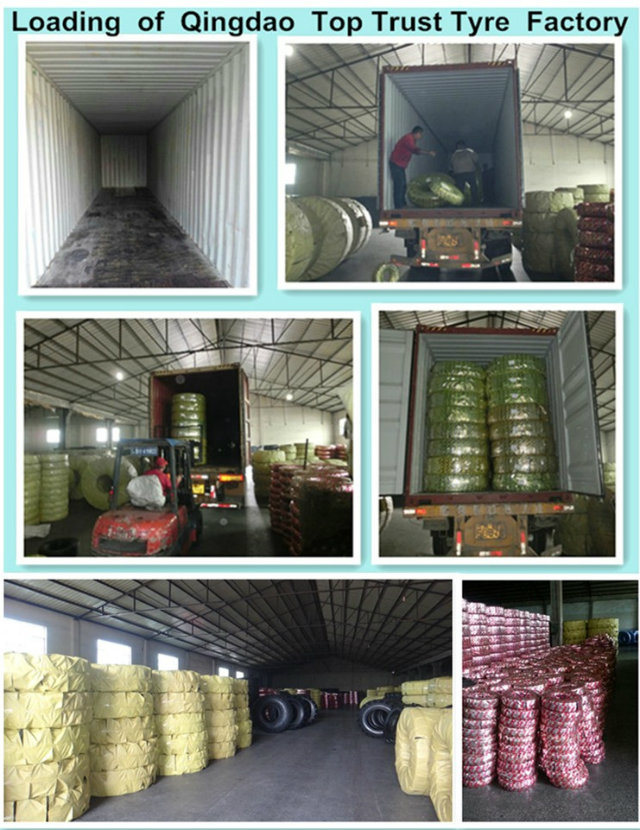 Sh-298 16*6-8 Top Trust Solid Industrial Forklift Tyre (16*6-8)