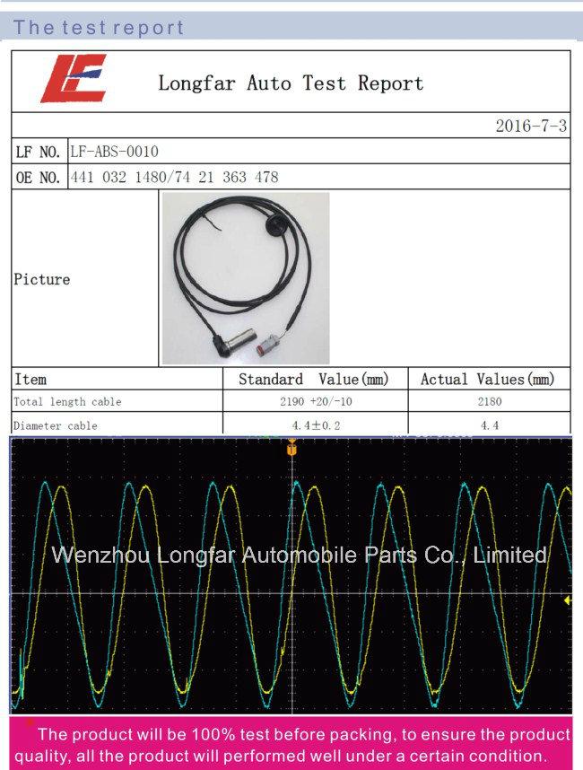 Auto Truck Water Level Sensor Coolant Level Indicator Transducer Vehicle Sensor 9425420217 4.63105 942542021705, 0368990000, 01.42.132 for Mercedes-Benz Evobus