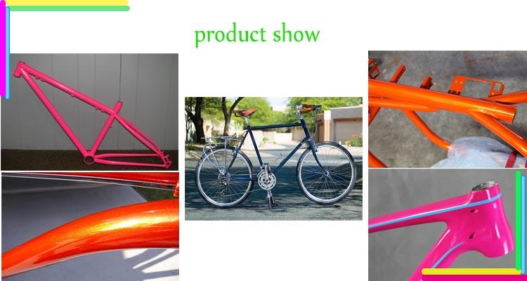 Popular Ral&Pantone Color Powder Coating for Bicycle