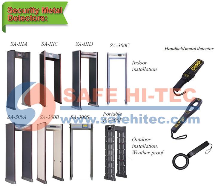 Hand Held Metal Detector Mini Type Body Scanner MD300