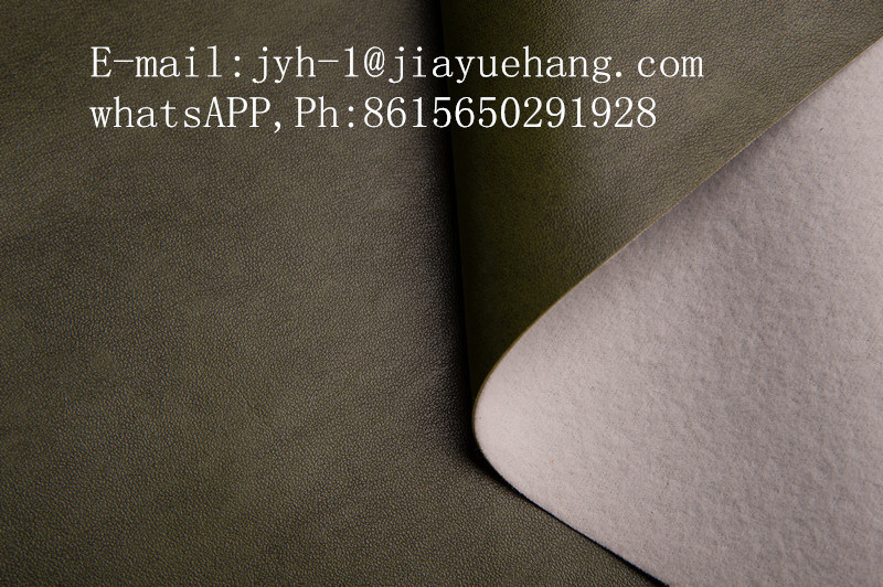 China Artificial Leather for Sofa and Synthetic Fabric