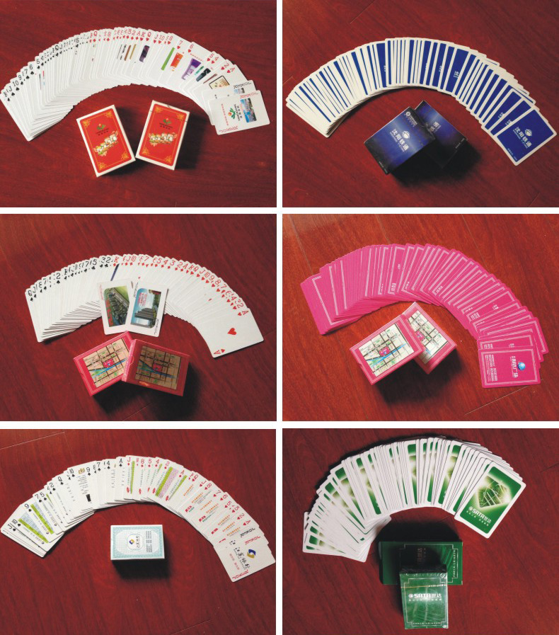 Paper Material and Advertising Poker Type Playing Card (430029)