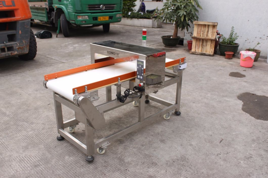 Metal Detector for Aluminum Foil Packing Food