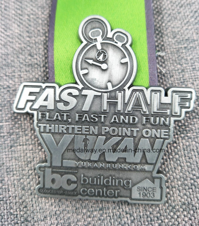 Customized Running/Sports/Gold/Golden/Marathon/Award/Military/Souvenir Medal