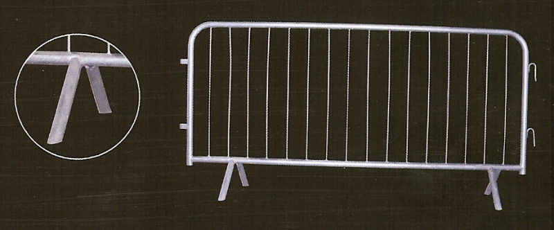 Flag Barrier for Access Control, Pedestrian Control Barrier, Crowd Control Barrier