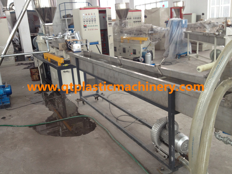 Co-Rotating Twin Screw Extruder / Pet Recycling Pelletizing Machine