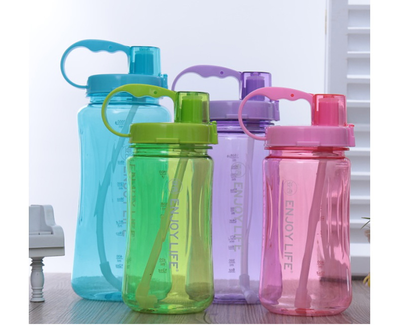2000ml Best Selling Tritan Clear Bottles, BPA Free Plastic Water Jugs