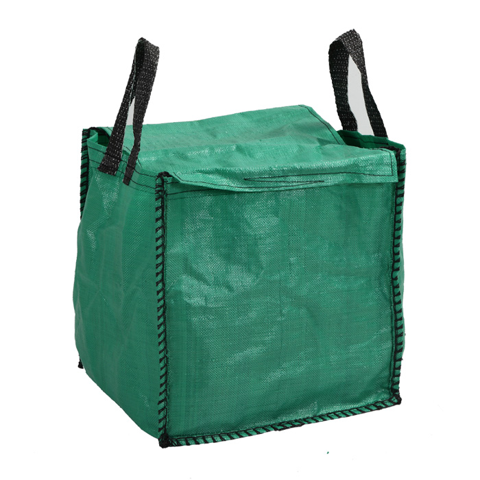 Color Green Recycled Big Bag for Gardening