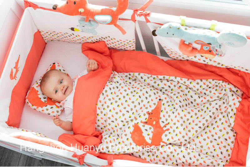 Factory Supply of Baby Bedding Set (pillow, quilt, sleeping bag)