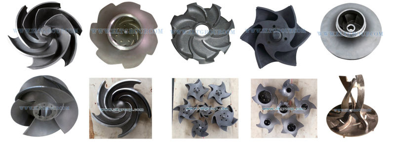 Goulds 3196 Centrifugal Pump Impeller Titanium