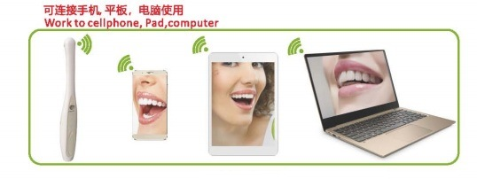 Hot Sale W1000 Wireless WiFi Professional Intraoral Camera