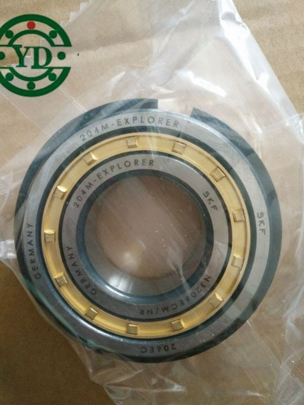 High Speed SKF Cylindrical Roller Bearing Nu206 Nj206 30*62*16mm
