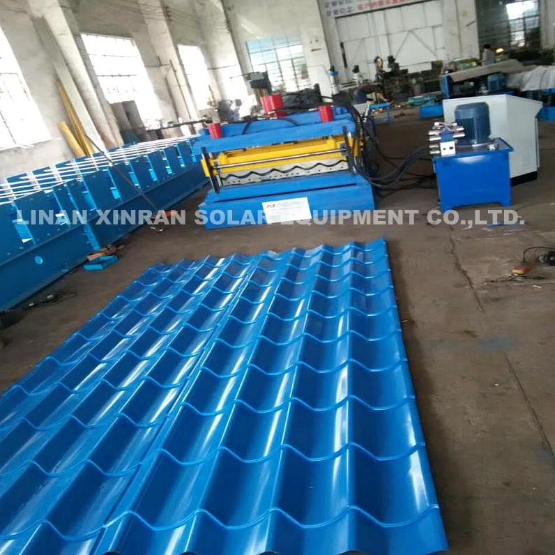 Metal Corrugated Roof Panel Rolling Machine