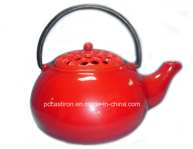 Enamel Cast Iron Teapot FDA Approved Factory