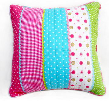 New Design Quilted Cushion Cover for Size 50*50cm with Cotton Embroidery Popular in China