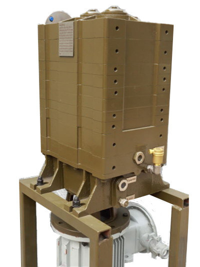 150L Vertical Type Water Cooling Dry Screw Oil Free Vacuum Pump