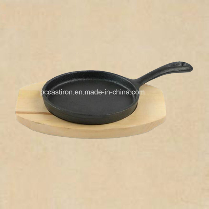 Cast Iron Mini Frypan Server From China