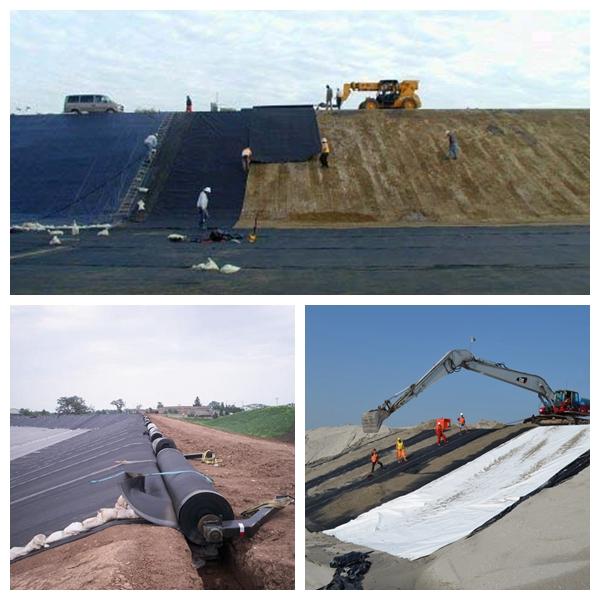 HDPE Pond Liner Waterproof Plastic Liners Dam Liner