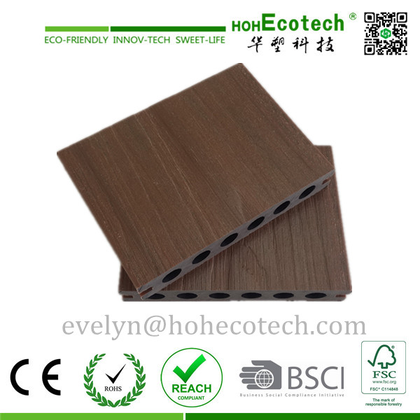 High Quality WPC Outdoor Flooring Board, Co-Extruding Decking Composite Floor, Capstock Decking