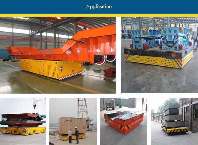 Heavy Duty Motorized Flat Bed Die Transfer Cart