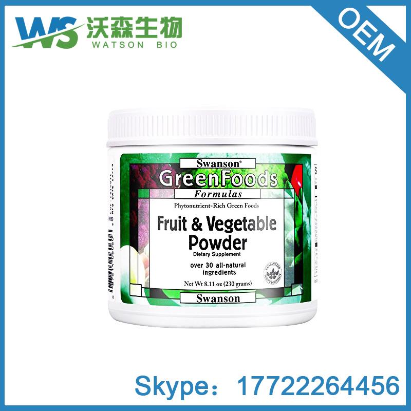 Swanson Greenfoods Formulas Certified Organic Raw Super Food Powder