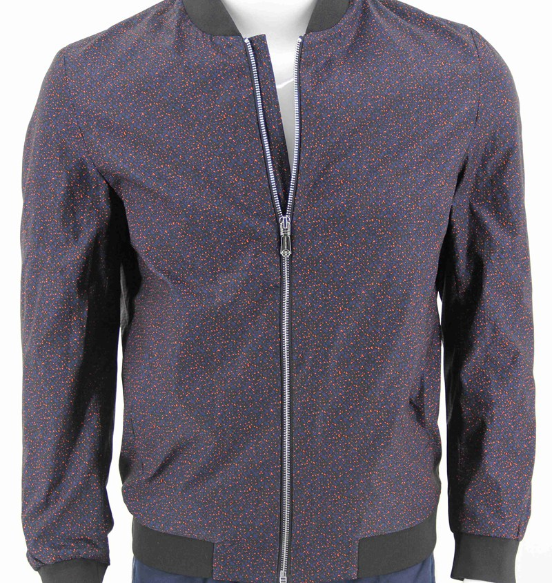 Ripstop Fabric with Printed for Men's Bomber Outwear