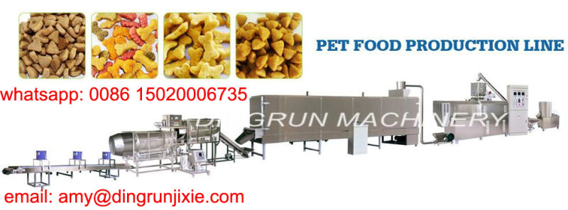 big capacity dog food making machine
