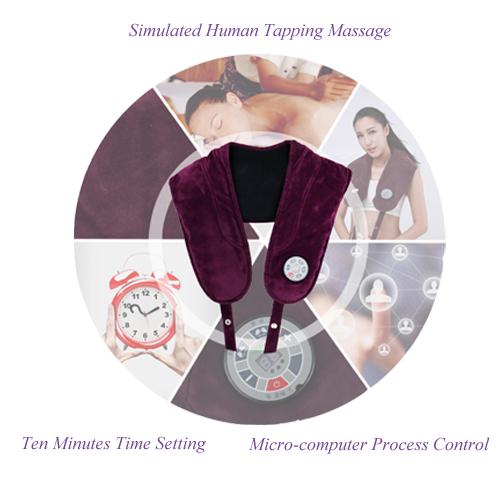 Massage Shawl Tapping Massage Shoulder Neck Massager