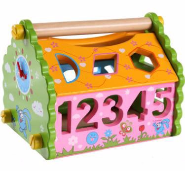 Intelligence Box Wood Toy