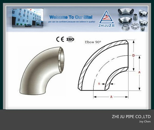 ANSI/ASTM Stainless Steel Welding Pipe Bend