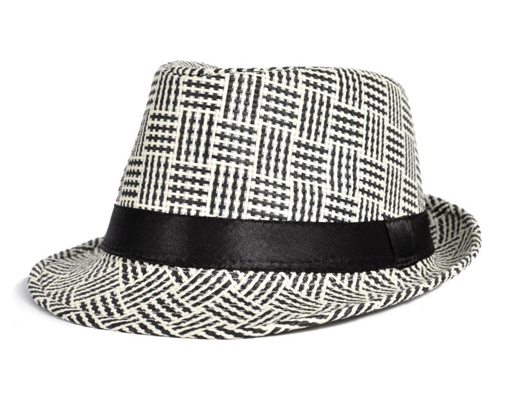 Panama Unisex Simple Design Paper Braid Straw Hat