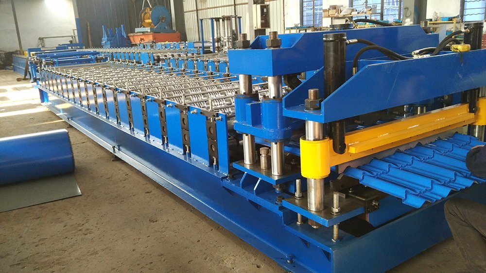 Xr27-190-950 Roll Forming Machine for Multi Wave Roof Tile