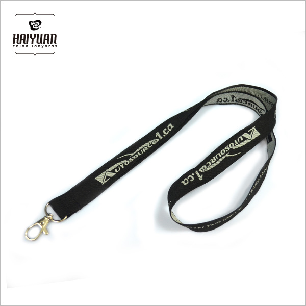 Customized Woven Lanyard with Company Logo