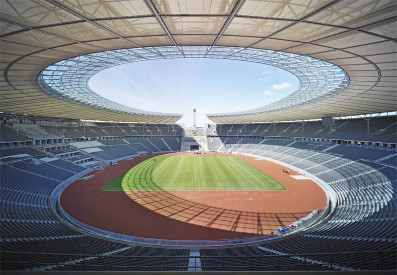 Prefabricated Membrane Structure for Bleacher, Stadium, Sports, Playground Roof