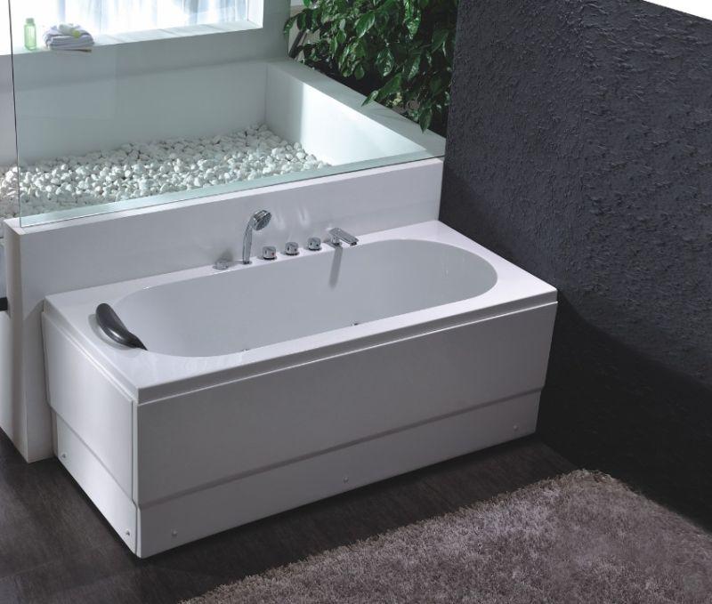 Comfortable Acrylic Massage Bathtub (JL803)