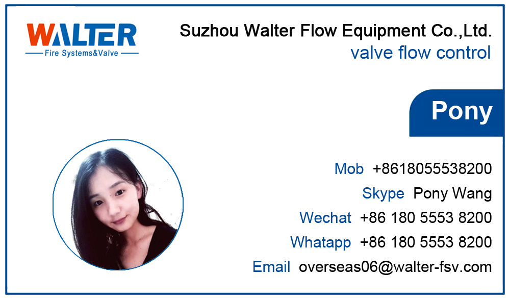 Fire Fighting Manual Butterfly Valve