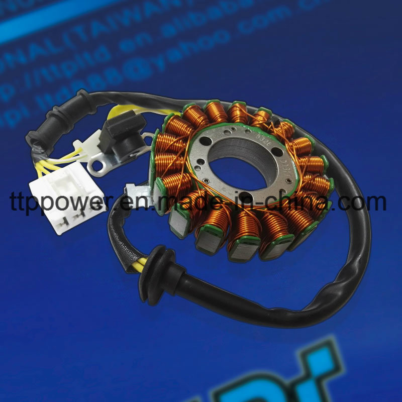 Asian Motors Gfm18 Motorcycle Spare Parts Magneto Coil Stator Coil