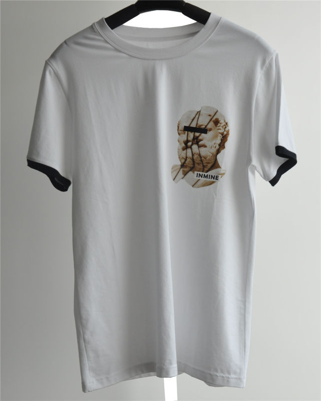 Men's Fashion Design Printed Cotton T-Shirt for Summer