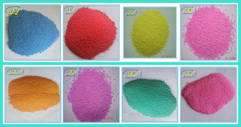 Colorful Granules for Detergent Powder