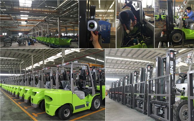 New 1.5t Mini Diesel Forklift