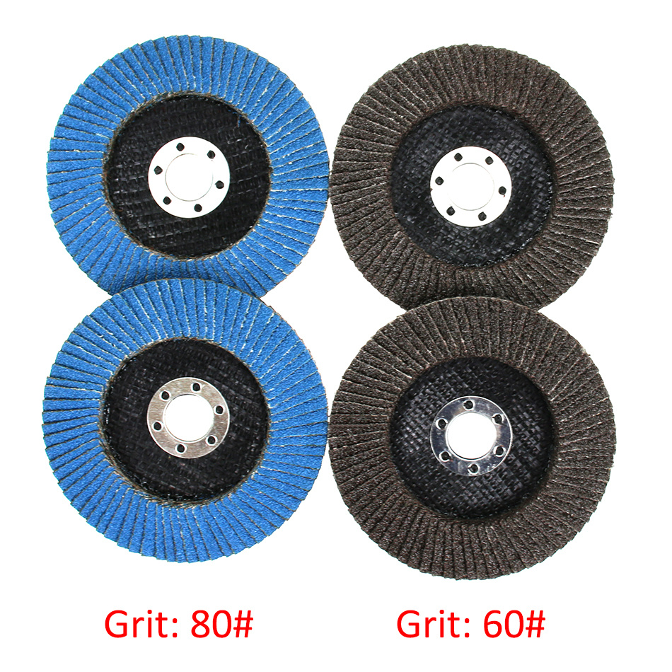 Discos de láminas para muelas abrasivas de grano para metal