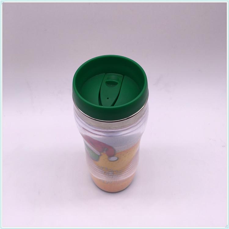 2016 New Type Hot Drinking Custom Logo Single Wall Coffee Cup