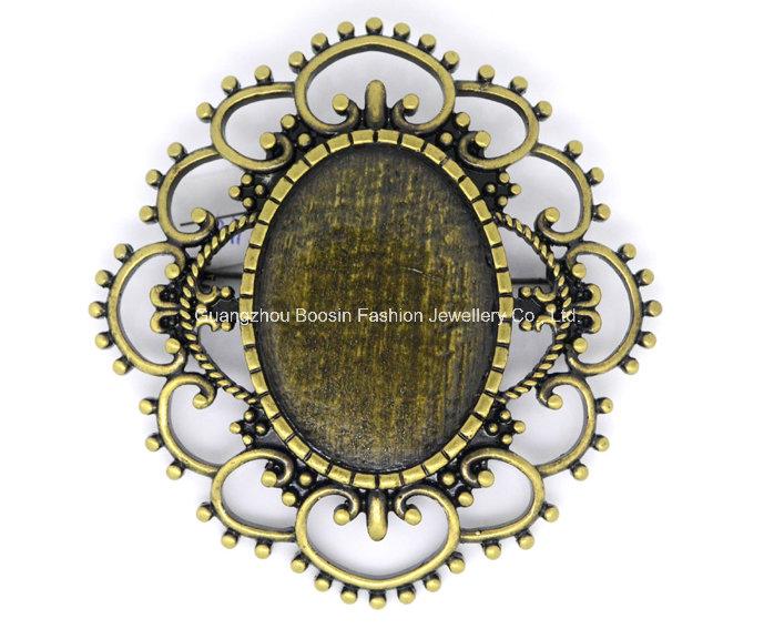 Custom High Quality Cameo Pin Brooch