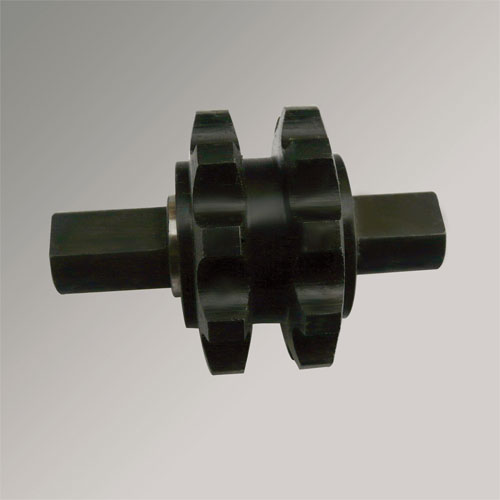 Transmission Chemical Black Lifting Drive Propeller Shaft with Two Sprockets