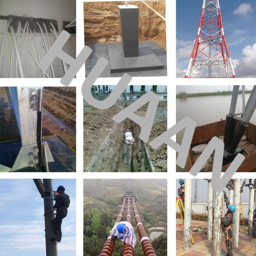 Galvanized Steel Pole Power Transmission Monopole Tower